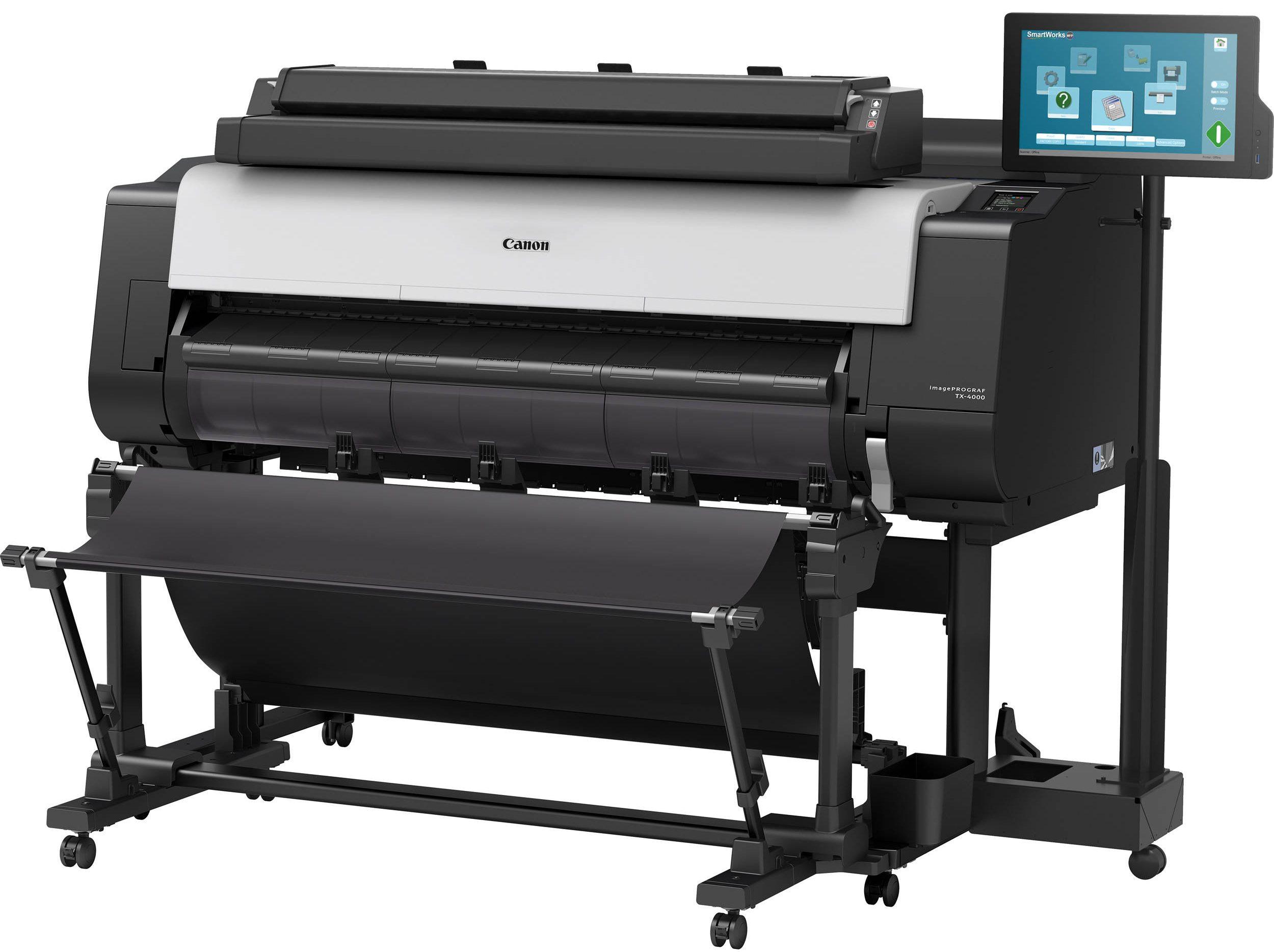 Canon tervrajznyomtató gép - tervrajz nyomtatás - másolás - szkennelés
