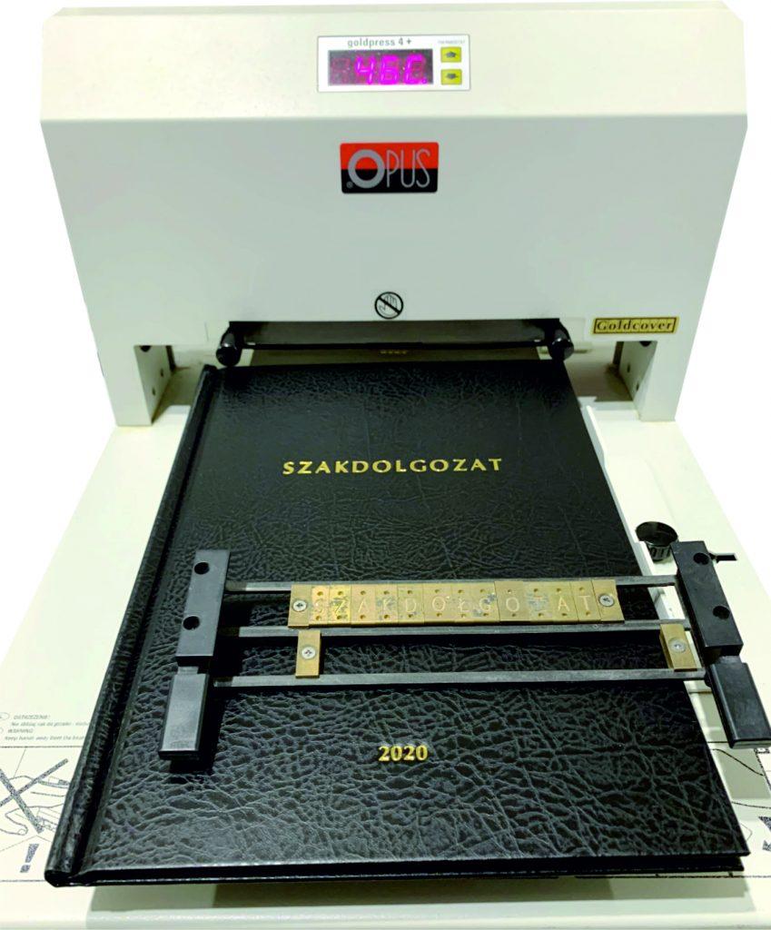 szakdolgozat diploma kötés bőr aranyozás kiszállítás színes nyomtatás