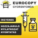 hozzájáruló nyilatkozat covid letöltés nyomtatás védőoltás vakcina oltópont dunakeszi budaoest